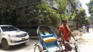 バングラデシュの銀行で両替しようとしたときのトラブル