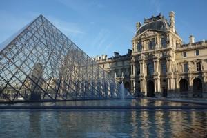 妻と二人でフランス海外旅行