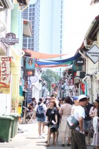 シンガポール中心地の両替所にて両替を行なった際のトラブル
