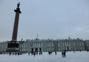 極寒のロシア・サンクトペテルブルグ旅行